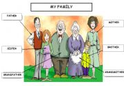 English worksheet: Family