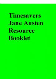 English Worksheets: Timesavers Janes Austen and Virginia Woolf