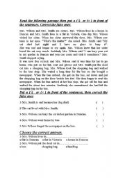 English Worksheet: I and the neighbours