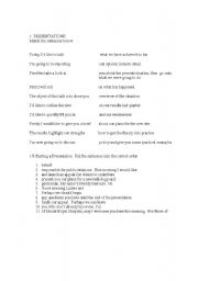 English Worksheets: Presentations