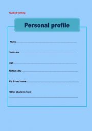 Sample of student profile radiotodorock student profile template image collections template design ideas maxwellsz