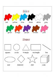 Printable Shapes Colors Worksheets Fun Pack Packet Kindergarten Pre Readiness Critical Thinking Skills