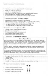 English Worksheets: special needs students exam