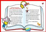 English Worksheets: Reading comprehension 2: