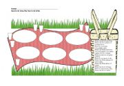 English Worksheet: Draw a Picnic