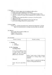 English Worksheets: Teaching Speaking Using the Group Discussion Method