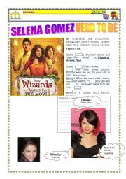 English Worksheets: Selena gomez