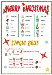 English Worksheet: New Jingle Bells