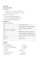 English Worksheets: CIVICS grade 3-NCR