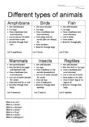english worksheet animals and biomes. Black Bedroom Furniture Sets. Home Design Ideas