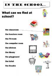english teaching worksheets school. Black Bedroom Furniture Sets. Home Design Ideas