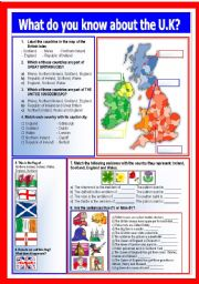 What do you know about the UK?