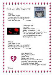English worksheet: Sweet -