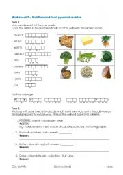 Worksheets Nutrition Worksheets english teaching worksheets nutrition and eatwell plate revision