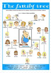 Printables Family Tree Worksheet Printable english teaching worksheets family tree tree