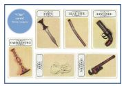 Clue cards printable clue cards murder weapons for conversation