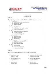 English Worksheets: Oral question for smart kids