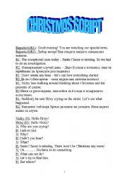 English worksheets: Christmas play worksheets, page 4