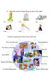 English Worksheets: STORYLAND