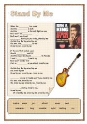 English Worksheets: Stand By Me - Ben E. King