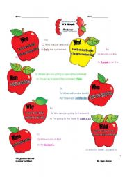 English Worksheets: Wh Words part I
