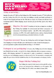 BUY NOTHING DAY (3pages)