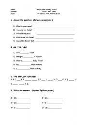 5th grade exam 5th grade exam level elementary age 6 11 downloads 1 ...