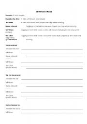 English Worksheets: adding description