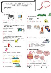 7th grade 2 exam esl worksheet by mystery sea. Black Bedroom Furniture Sets. Home Design Ideas