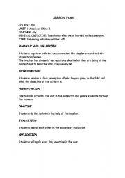 elementry lesson plans