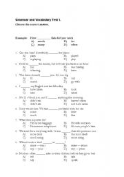 English worksheets: grammar worksheets, page 660