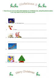 English Worksheets: Christmas2