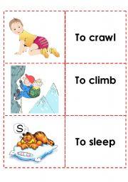 English Worksheets: memory game (1)