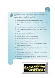 English Worksheets: Dial M for Murder - part 2