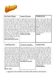 English Worksheets: Cringe