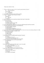 english teaching worksheets romeo and juliet. Black Bedroom Furniture Sets. Home Design Ideas