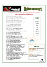 Australian Christmas Song: Six White Boomers [kangaroos]