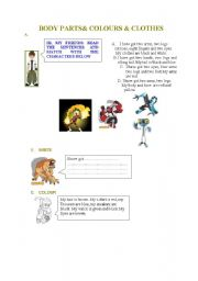 English Worksheets: revision with ben ten