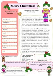 English Worksheets: Merry Christmas!