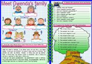 Gwenda´s family tree