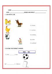 English Worksheets: activity (3)