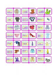 clothes domino 1 /2