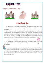 English Worksheets: English Test:(3 parts): Reading Comprehension/ Grammar+ Vocabulary/Writing