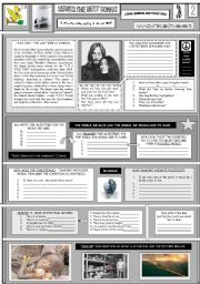 English Worksheet: IMAGINE - JOHN LENNON - PART 02