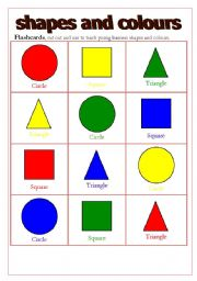 Home gt shapes worksheets gt shapes and colours flashcards