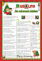 English Worksheets: Christmas Set (11) - Time to sing: Destiny�s Child -
