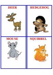 English Worksheets: Animals 3.
