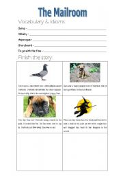 English Worksheets: Elf (part 7 of 9)