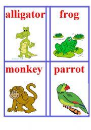 English Worksheets: Animals 6.