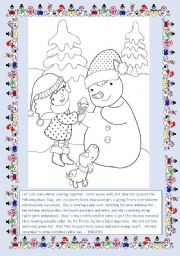 Suzy and Frosty